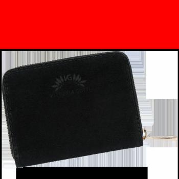 Vittoria Gotti nositeľné obchodné kožené peŘaženky ženy Vyrobené v Taliansku čierne