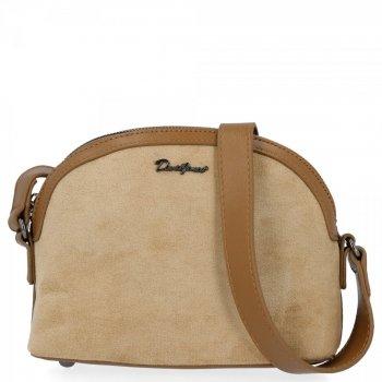 Univerzálna dámska taška na posol pre všetky príležitosti David Jones khaki