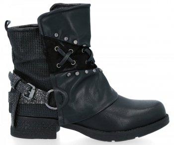 Čierne Módne Dámske topánky Alex