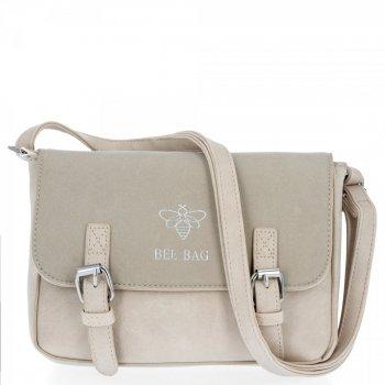 BEE Bag štýlové dámske Crossbody tašky Madeleine Beige