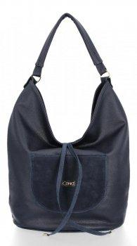Univerzálna dámska taška XL Casual Tmavo modrá