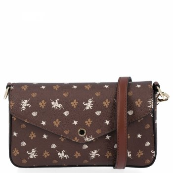 Módna dámska taška na posol od čokolády Davida Jonesa