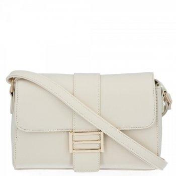 Herisson Firemná taška dámska elegantná taška na Messenger svetlo béžová
