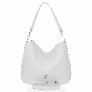 Univerzálne dámske tašky David Jones biela