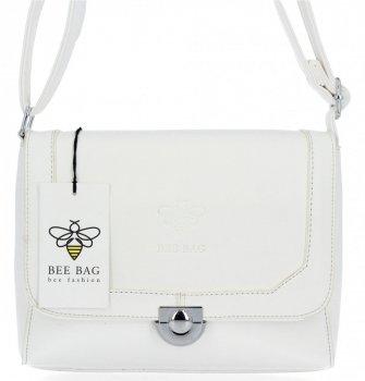 BEE Bag elegantná dámska taška na posol Amalia Biela