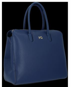 Elegantná Kožená taška s možnosťou rozšírenia z granátu Vittoria Gotti
