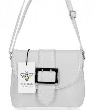 BEE Bag elegantná dámska taška na Messenger Ana biela