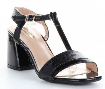 Elegantné dámske čerpadlá lak Bellucci čierny