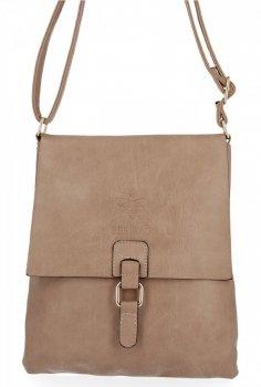 BEE Bag štýlové dámske Crossbody tašky Sevilla tmavo béžová