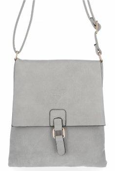 BEE Bag štýlové dámske Crossbody tašky Sevilla Svetlo šedá