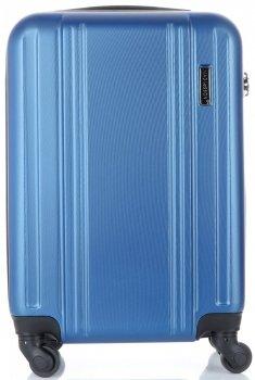 Elegantný Kufor Kabína 4 Otočné Kolieska Madisson Modrá