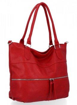 Univerzálne dámske tašky veľkosti XL od Herisson červený