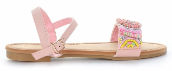 módní dámské sandály růžové