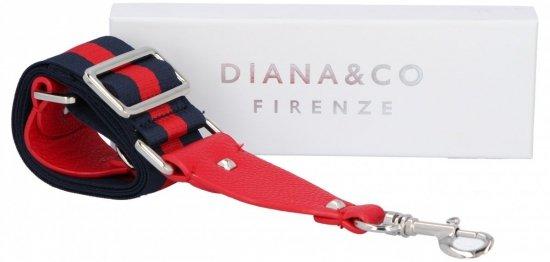 Popruh pro dámské kabelky Diana&Co Multicolor Červený