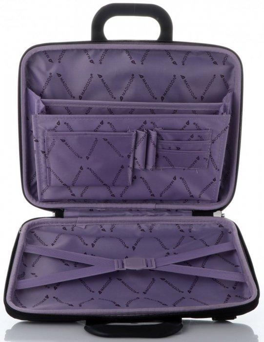 Prostorná taška Madisson Laptop 13,5'' černá