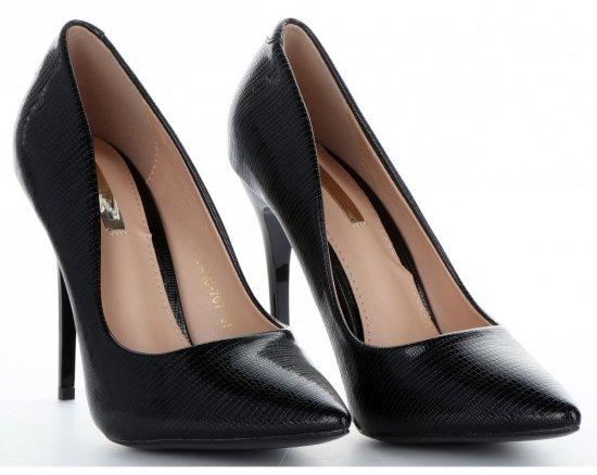 Elegantní dámské lodičky Bellucci černé
