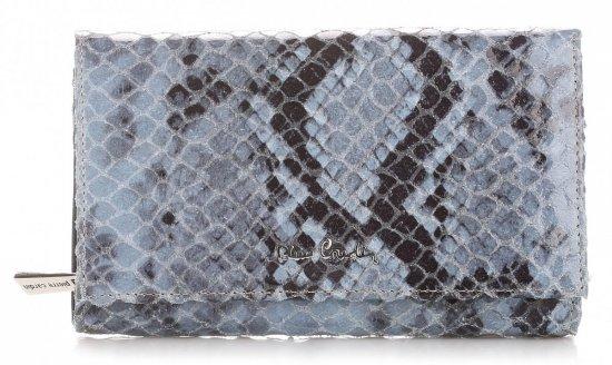 Portfel Damski skórzany Pierre Cardin Granat