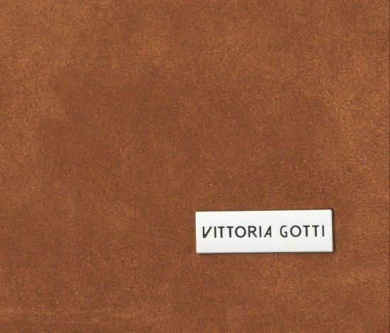 Vittoria Gotti Uniwersalne Torebki Skórzane Na co dzień Zamsz Naturalny wysokiej jakości Ruda