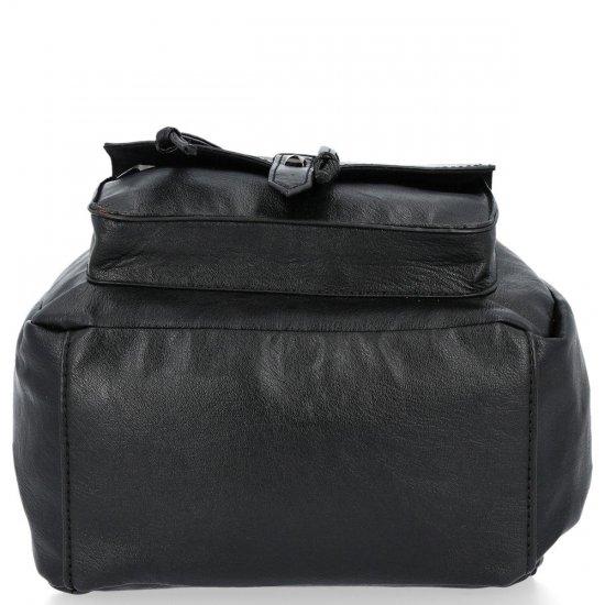 Modne Plecaki Damskie w stylu retro firmy David Jones Czarny