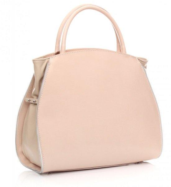 Taška je kožená taška s možnosťou rozšírenia jasne bez