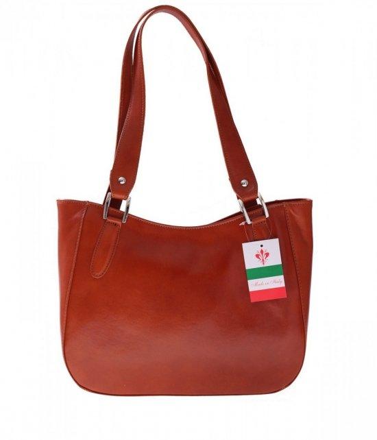 Kožená taška univerzálna a príležitostná červená