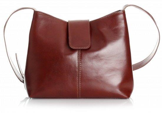 Originálne kožené tašky 2 priehradky bronz