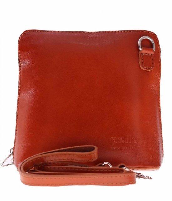 Malý kožený poštár Vera Pelle červená
