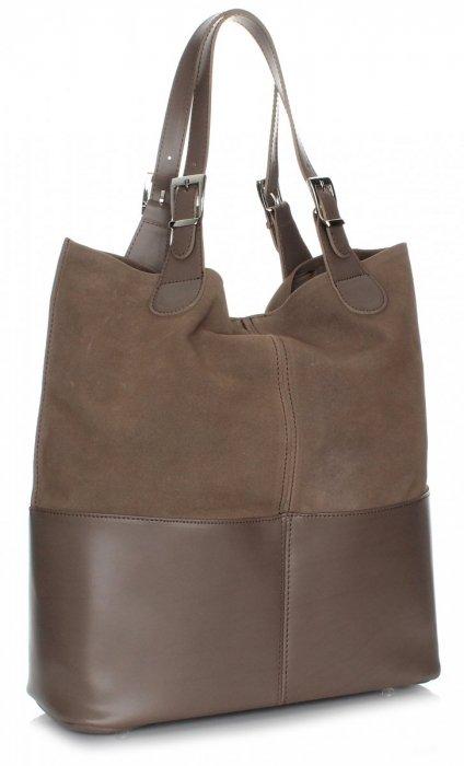 Kožená taška exkluzívna nákupná taška
