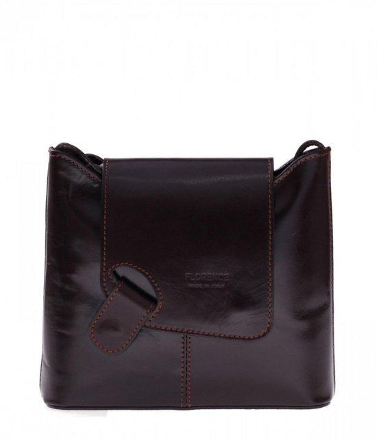 Kožená taška poštár správa taška čokoláda