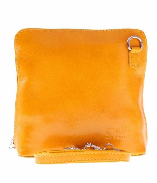 Malý Kožený Poštár Vera Pelle Žltá