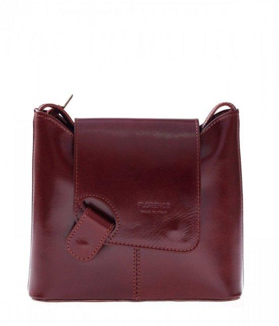 Kožená taška poštár správa taška bronz