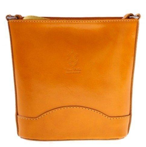 Elegantná Kožená taška Vera Pelle Žltá