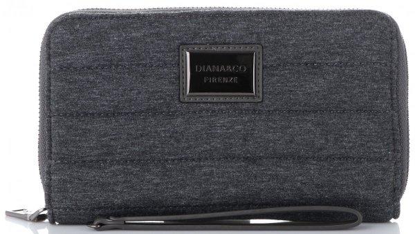 31ec40758be22 Modny Portfel Damski Diana amp Co Firenze typu Piórnik Etui na Karty z  paskiem w rozmiarze
