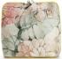 Torebka Skórzana firmy Vittoria Gotti Mała Włoska Listonoszka w modne wzory Kwiatów Żółta