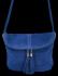 Uniwersalna Listonoszka Skórzana na co dzień w rozmiarze M firmy Vittoria Gotti  Kobaltowa