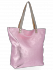 Modne Torebki Skórzane Włoski Shopper Bag firmy Vittoria Gotti Różowa