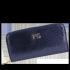 Luksusowe Skórzane Portfele Damskie firmy Vittoria Gotti Made in Italy Granat