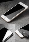 HardGlass MAX 5D - Szkło Hartowane na cały ekran do Apple iPhone 7 / 8  (4,7) kolor biały