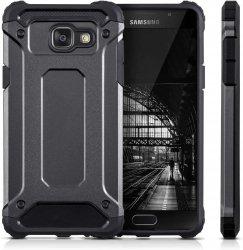 Rugged Hybrid Dual Layer Hard Shell Armor Etui Samsung Galaxy A5 2016 A510 (grey)