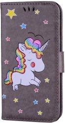 Unicorn Rainbow Pony Etui Futerał - Samsung Galaxy A3 2016