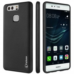VAKOO Huawei P9 Etui Case Heavy Duty Drop Protection - Huawei P9 (Black)