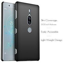Etui Case Plecki Hard Cover - Sony Xperia XZ2 Premium (czarny)