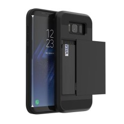Dual Rugged Case Card Slide - Pancerne etui - Samsung Galaxy J5 2016 J510 (czarny)