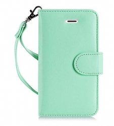 FYY Samsung Galaxy S7 - Etui book case ze smyczką (miętowy)