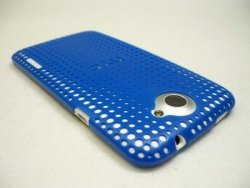 HTC HARD SHELL - ETUI BACK COVER DO HTC ONE X- HC C704 (niebieski)