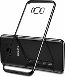 ETUI ELEGANCE PLATE - Samsung Galaxy S8 (czarny)