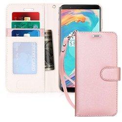 FYY Samsung Galaxy S8 - Etui book case ze smyczką (pink)