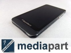 Blackberry - ORYGINALNY DOTYK WYŚWIETLACZ LCD RAMKA - BLACKBERRY Z10 4G (czarny)