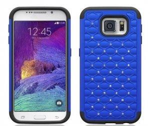 ETUI CASE DUAL LAYER Zirconia- Samsung Galaxy S6 (niebieski)