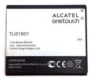 Nowa oryginalna bateria Alcatel TLi018D1 One Touch Pop D5 , OT 5038D - 1800 mAh